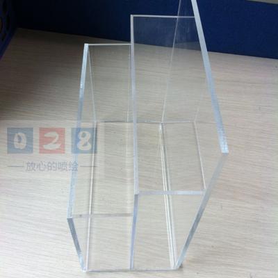 成都亚克力水晶箱制作工艺 三维雕刻店招制作 成都平板印刷制作