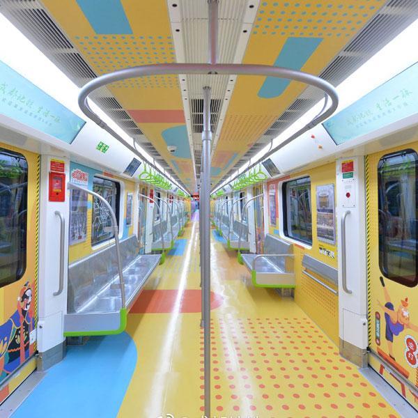 地铁8号线主题列车